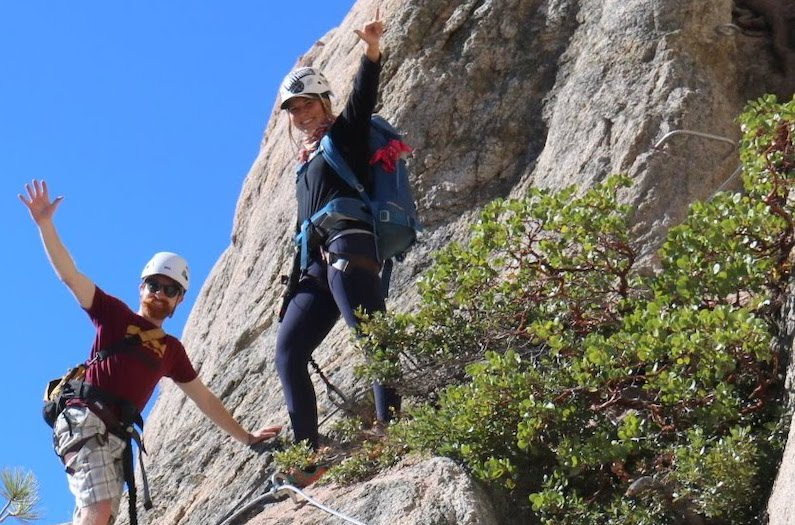 What to Wear on the Tahoe Via Ferrata