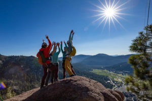 family activity, family fun, climbing, squaw valley